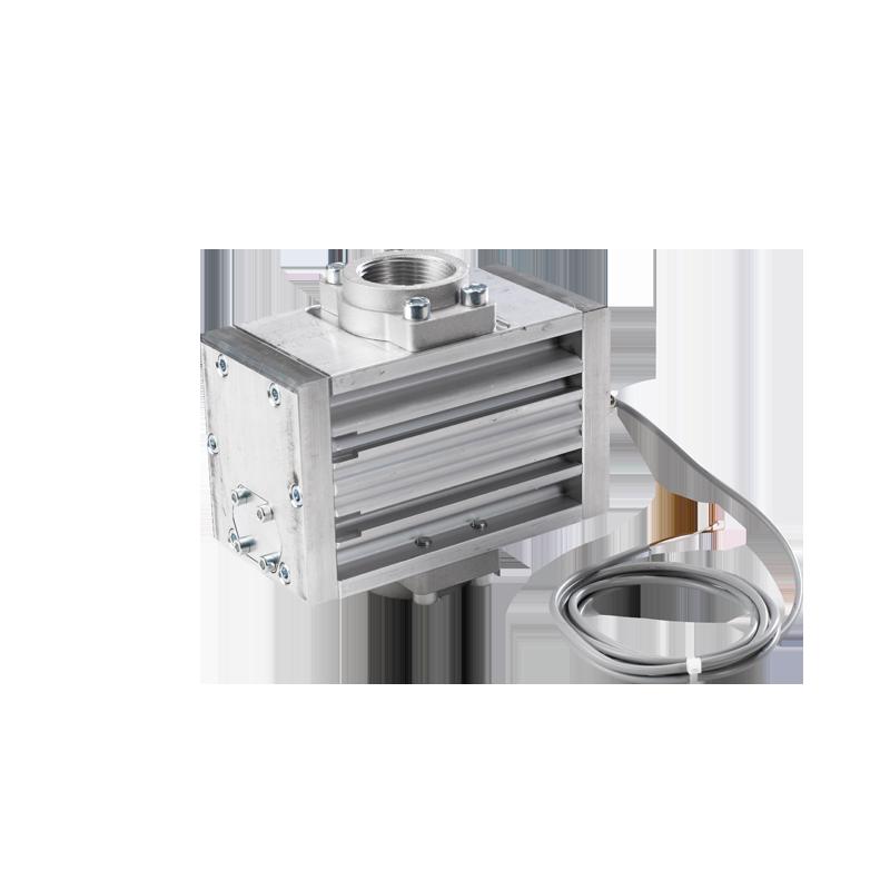 Meters with pulse generator
