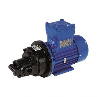 Pompe électrique à engrenages moteur ATEX JEV41EX, JEV51EX, JEV71EX, JEV81EX
