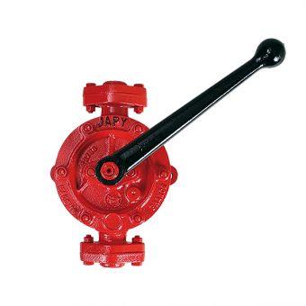 Pompe manuelle semi-rotative en fonte GS, référence EP2-GS