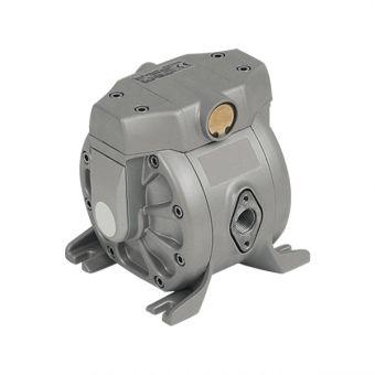 Pompe pneumatique à membranes, corps Aluminium AL1PTFE-EX