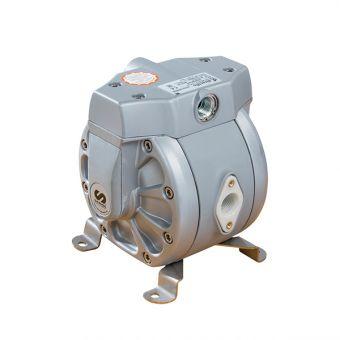 Pompe pneumatique à membranes, corps PP PP1SAN