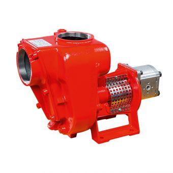 Pompes à turbine ouverte avec moteur hydraulique