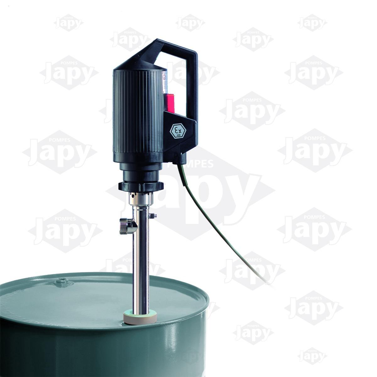 barrel emptying pumps by technology pompes japy. Black Bedroom Furniture Sets. Home Design Ideas