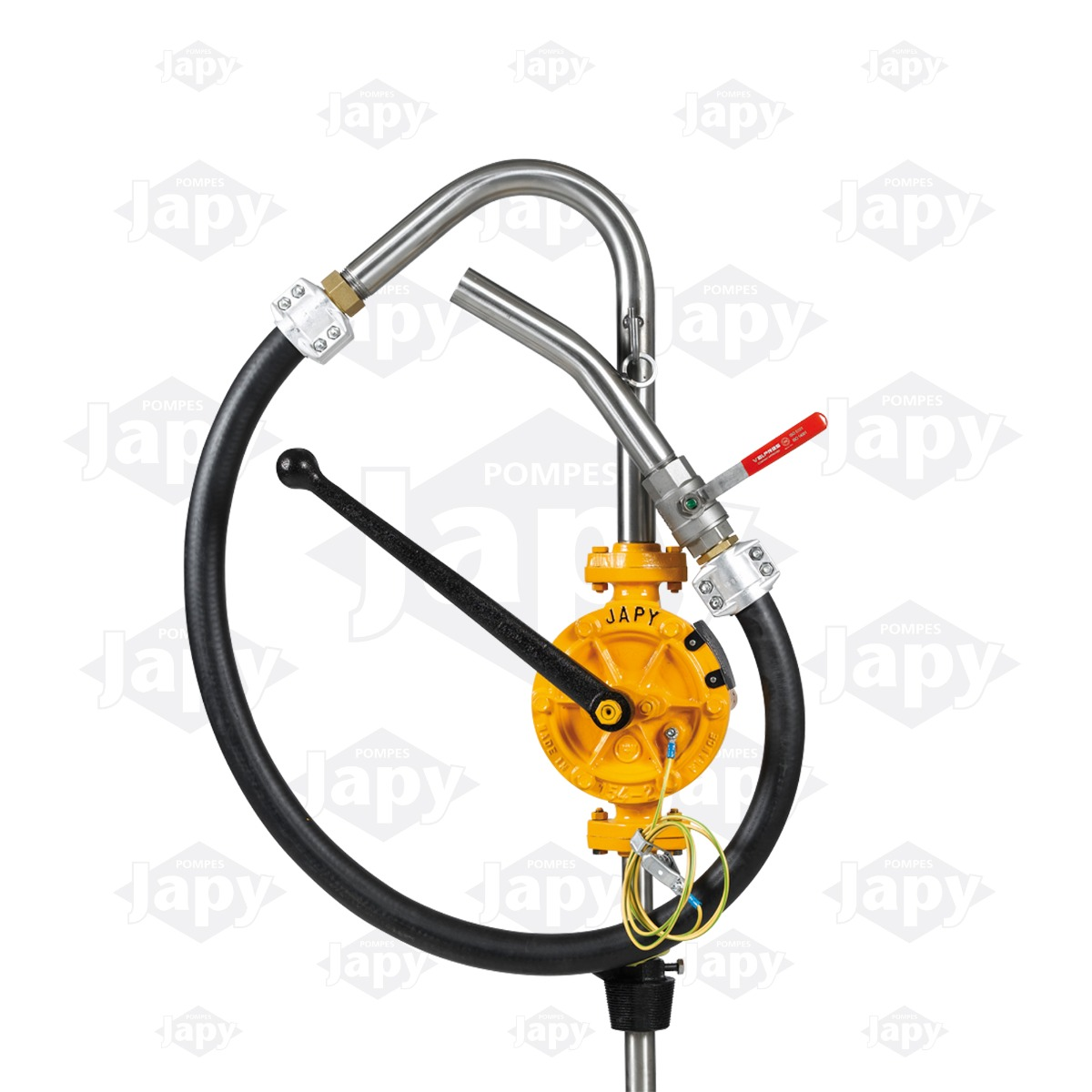 Pompe manuelle équipée semi-rotative ATEX - FAT1-SO